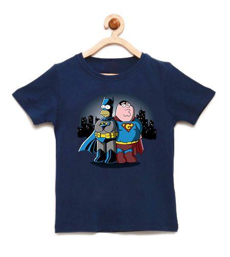 Camiseta Infantil Morcego - Loja Nerd e Geek - Presentes Criativos
