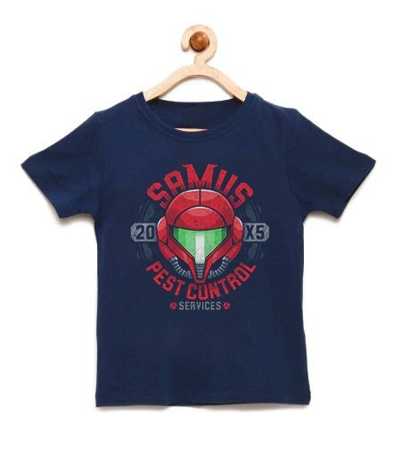 Camiseta Infantil A Jogadora  - Loja Nerd e Geek - Presentes Criativos