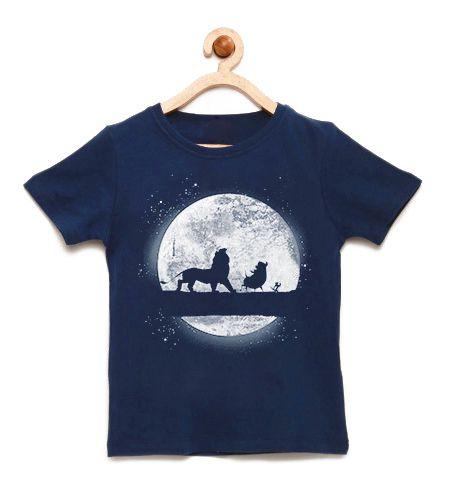 Camiseta Infantil King - Loja Nerd e Geek - Presentes Criativos