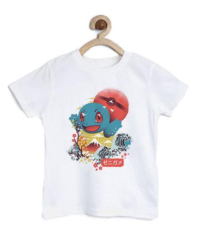 Camiseta Infantil Lets Go - Loja Nerd e Geek - Presentes Criativos