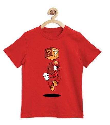 Camiseta Infantil Plumber Fire  - Loja Nerd e Geek - Presentes Criativos