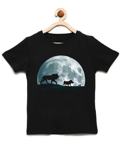 Camiseta Infantil King Moon - Loja Nerd e Geek - Presentes Criativos