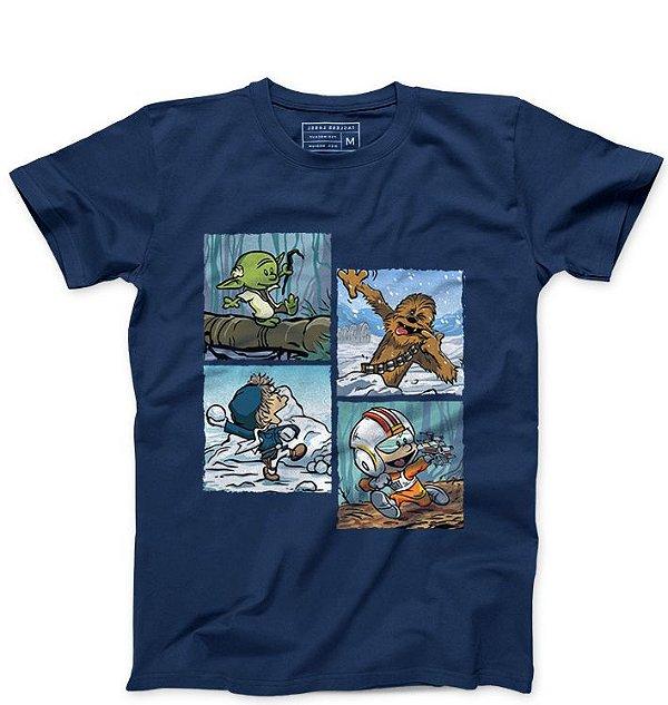Camiseta Masculina Space Wars Photo - Loja Nerd e Geek - Presentes Criativos