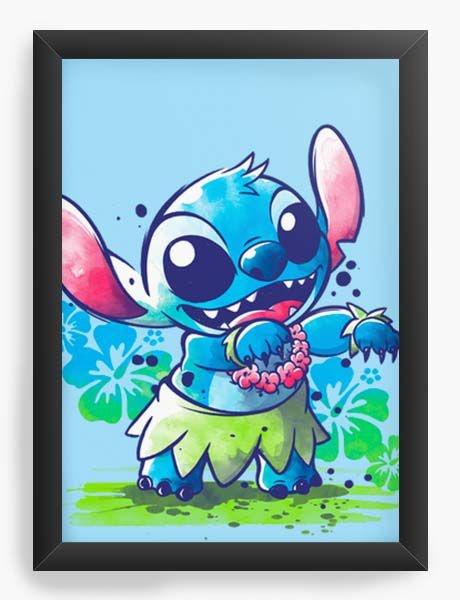 Quadro Decorativo A3 (45X33) Geekz Stitch - Loja Nerd e Geek - Presentes Criativos