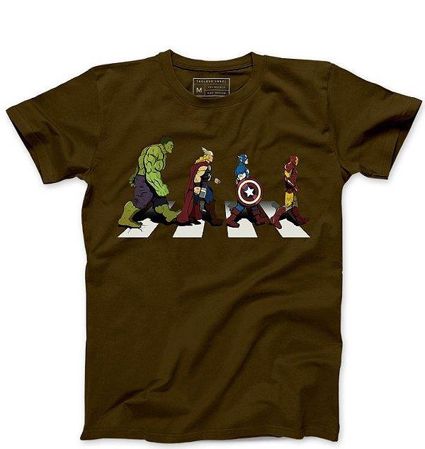 Camiseta Masculina  The Powerful Men  - Loja Nerd e Geek - Presentes Criativos