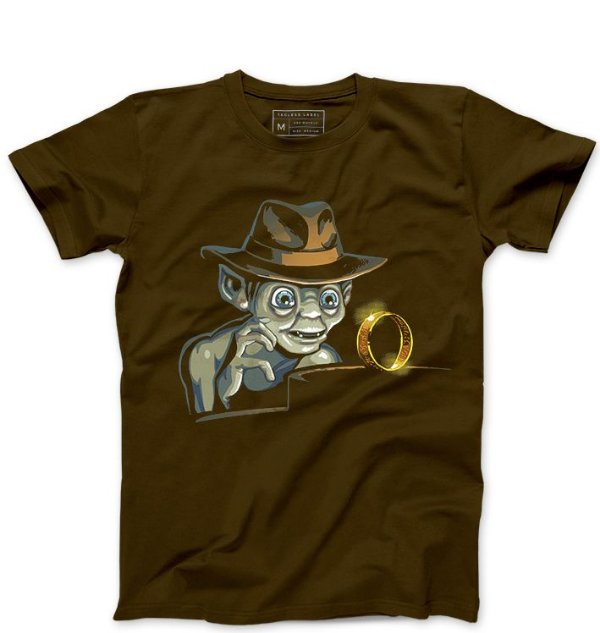 Camiseta Masculina Precioso Anel  - Loja Nerd e Geek - Presentes Criativos