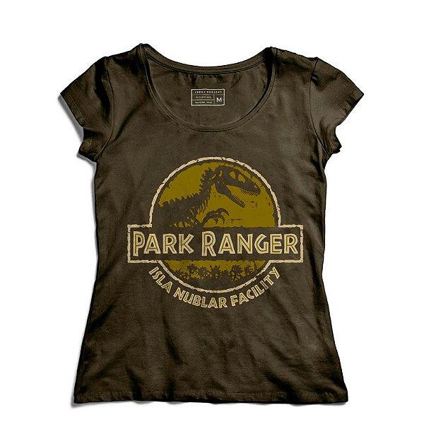 Camiseta Feminina Parque Ranger - Loja Nerd e Geek - Presentes Criativos