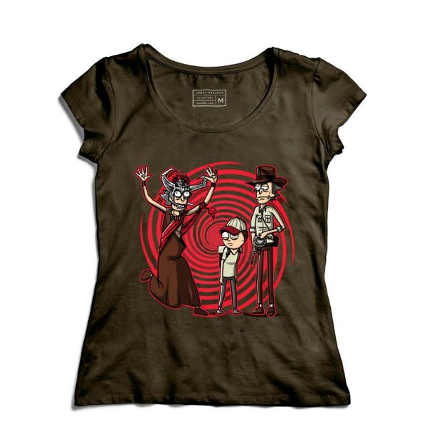 Camiseta Feminina Universo Paralelo - Loja Nerd e Geek - Presentes Criativos