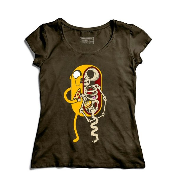 Camiseta Feminina Anatomy - Loja Nerd e Geek - Presentes Criativos