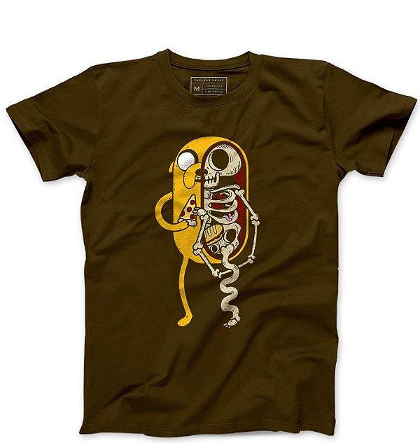 Camiseta Masculina Anatomia do Cachorro  - Loja Nerd e Geek - Presentes Criativos