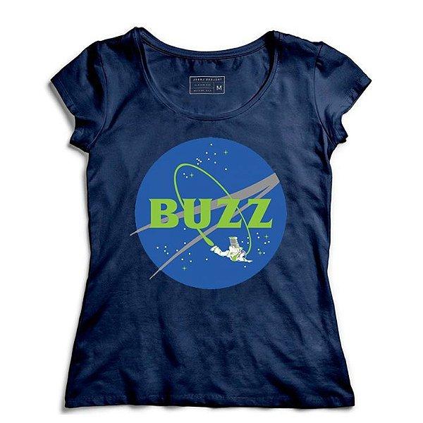 Camiseta Feminina Space Buzz - Loja Nerd e Geek - Presentes Criativos