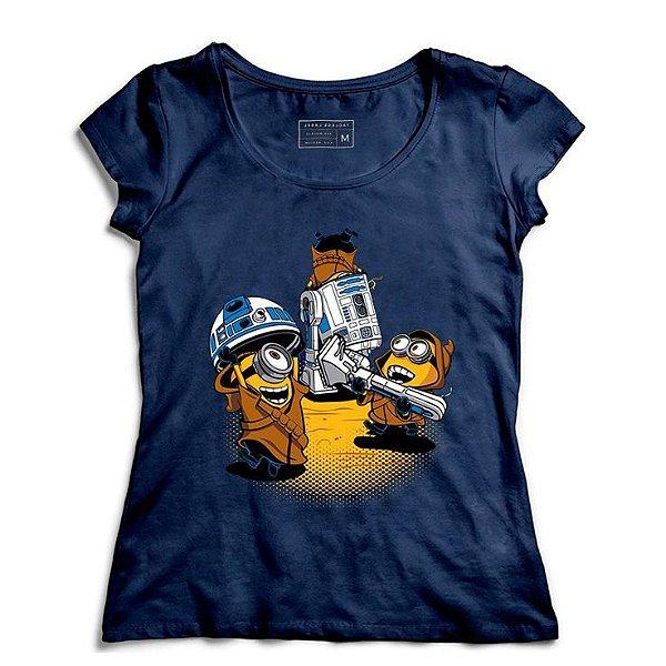 Camiseta Feminina Mini Wars - Loja Nerd e Geek - Presentes Criativos