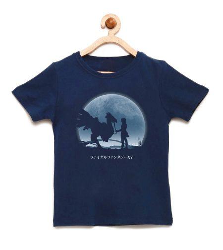 Camiseta Infantil Chocobo - Loja Nerd e Geek - Presentes Criativos