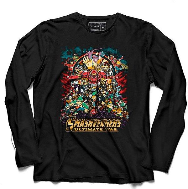 Camiseta Manga Longa Asmasvengers - Loja Nerd e Geek - Presentes Criativos