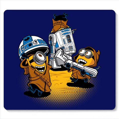 Mouse Pad Mini Wars- Loja Nerd e Geek - Presentes Criativos