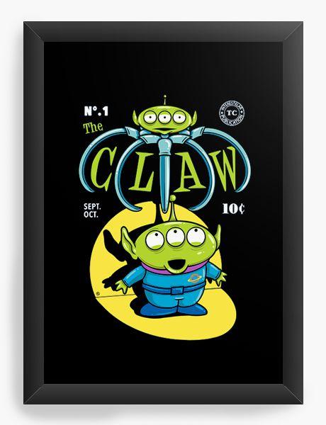 Quadro Decorativo A4 (33X24) Et - Loja Nerd e Geek - Presentes Criativos
