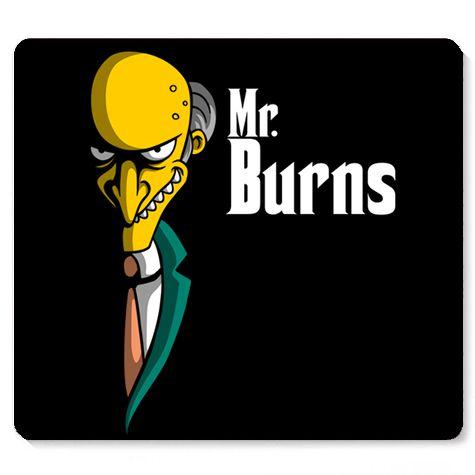 Mouse Pad Mr Burns - Loja Nerd e Geek - Presentes Criativos