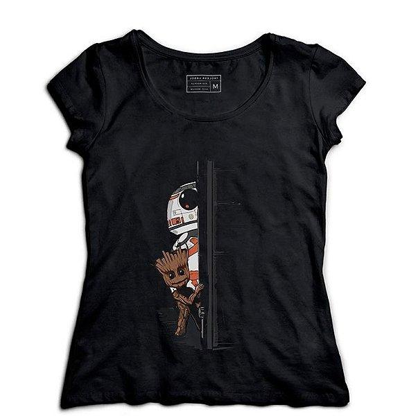 Camiseta Feminina Door - Loja Nerd e Geek - Presentes Criativos