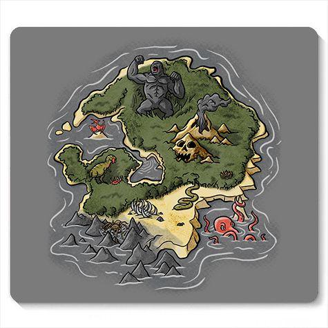 Mouse Pad King Kong - Loja Nerd e Geek - Presentes Criativos
