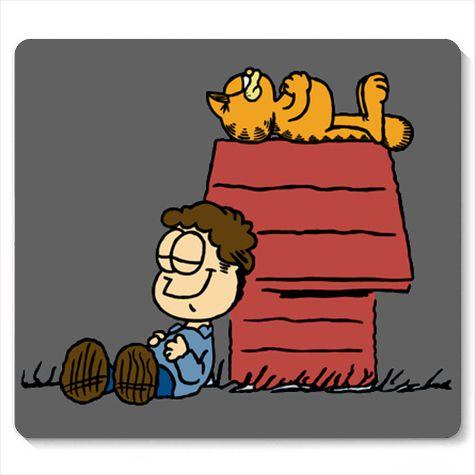 Mouse Pad Garfield - Loja Nerd e Geek - Presentes Criativos