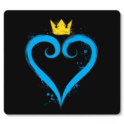 Mouse Pad Heart of the Game - Loja Nerd e Geek - Presentes Criativos