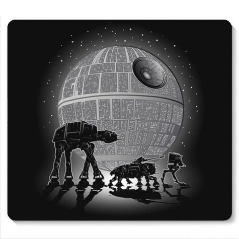 Mouse Pad Space Wars - Loja Nerd e Geek - Presentes Criativos