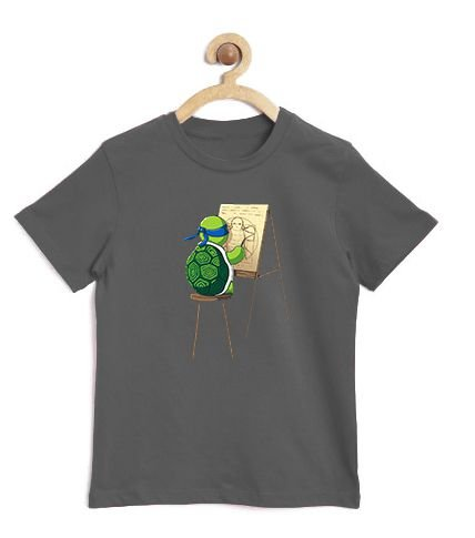 Camiseta Infantil Leonardo - Loja Nerd e Geek - Presentes Criativos