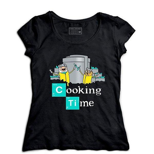 Camiseta Feminina Time - Loja Nerd e Geek - Presentes Criativos