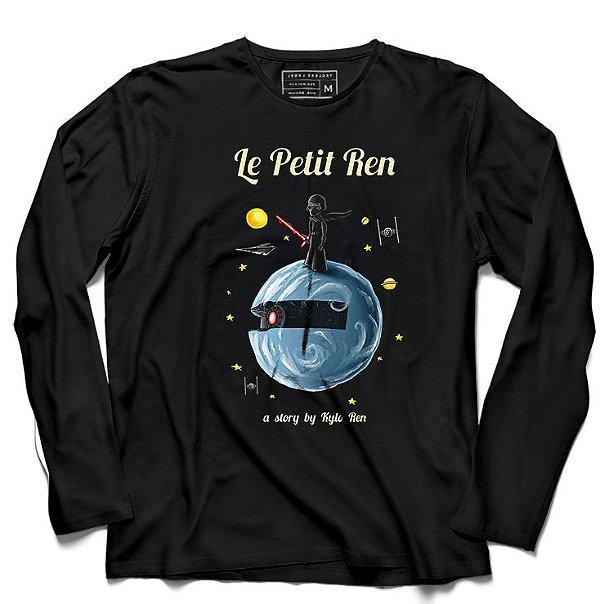 Camiseta Manga Longa Ren - Loja Nerd e Geek - Presentes Criativos