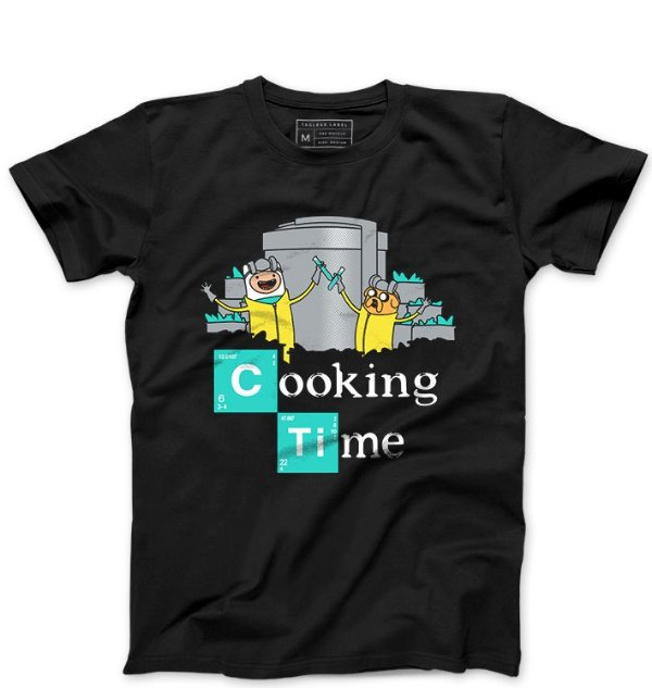 Camiseta Masculina Time - Loja Nerd e Geek - Presentes Criativos
