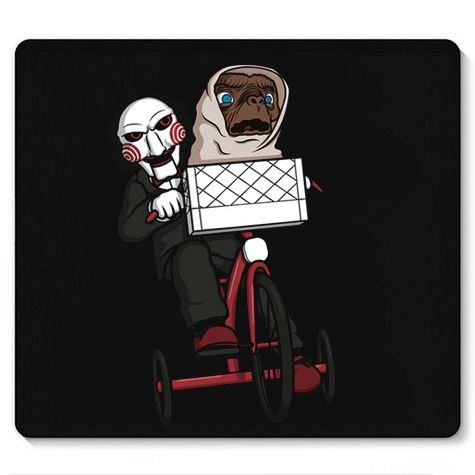 Mouse Pad ET and Killer - Loja Nerd e Geek - Presentes Criativos