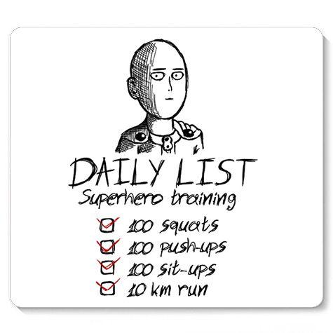 Mouse Pad Daily List - Loja Nerd e Geek - Presentes Criativos