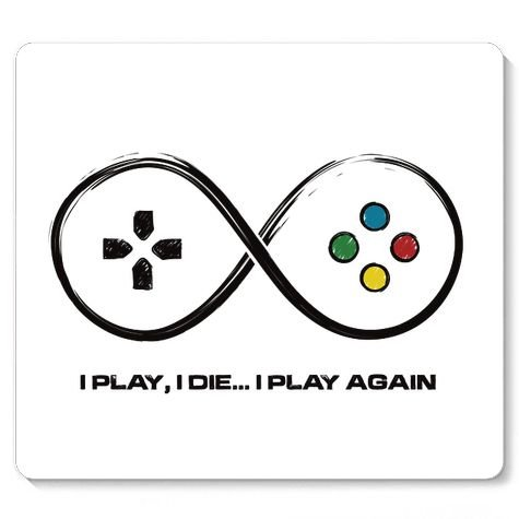 Mouse Pad I Play - Loja Nerd e Geek - Presentes Criativos