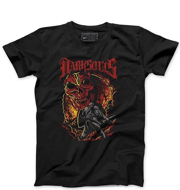 Camiseta Masculina Dark Souls - Loja Nerd e Geek - Presentes Criativos