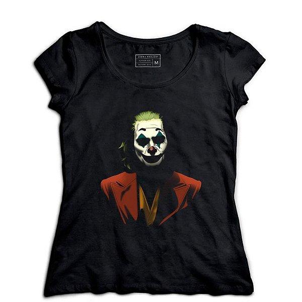 Camiseta Feminina Palhaço - Loja Nerd e Geek - Presentes Criativos