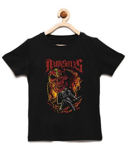 Camiseta Infantil Dark Souls - Loja Nerd e Geek - Presentes Criativos