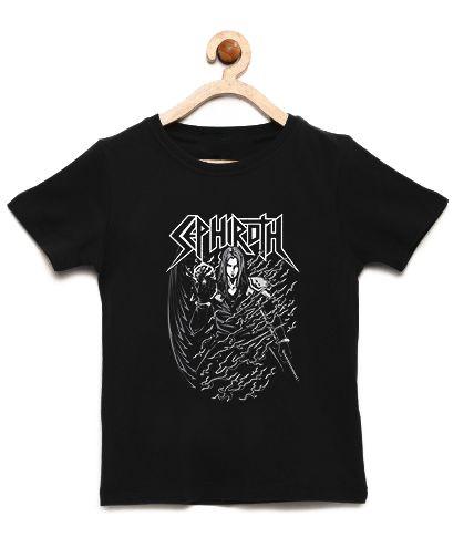 Camiseta Infantil Sephiroth Final Fantasy - Loja Nerd e Geek - Presentes Criativos