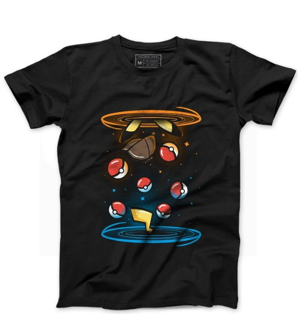 Camiseta Masculina Ball - Loja Nerd e Geek - Presentes Criativos
