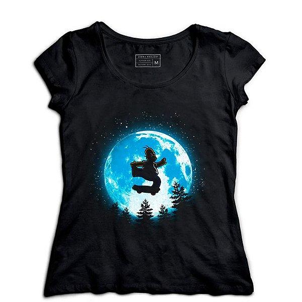 Camiseta Feminina Moon - Loja Nerd e Geek - Presentes Criativos