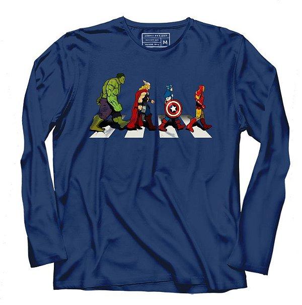 Camiseta Manga Super Protetores - Loja Nerd e Geek - Presentes Criativos