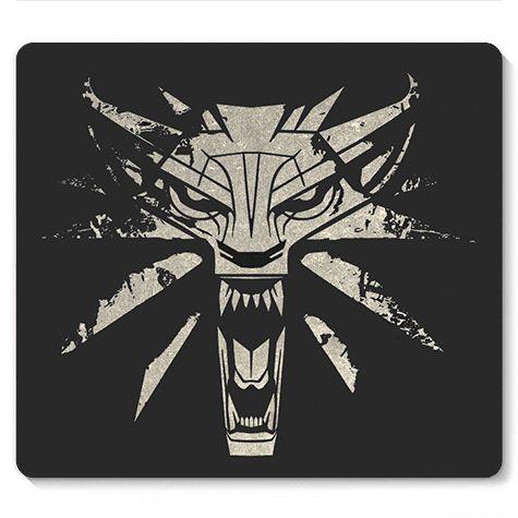 Mouse Pad Witcher - Loja Nerd e Geek - Presentes Criativos