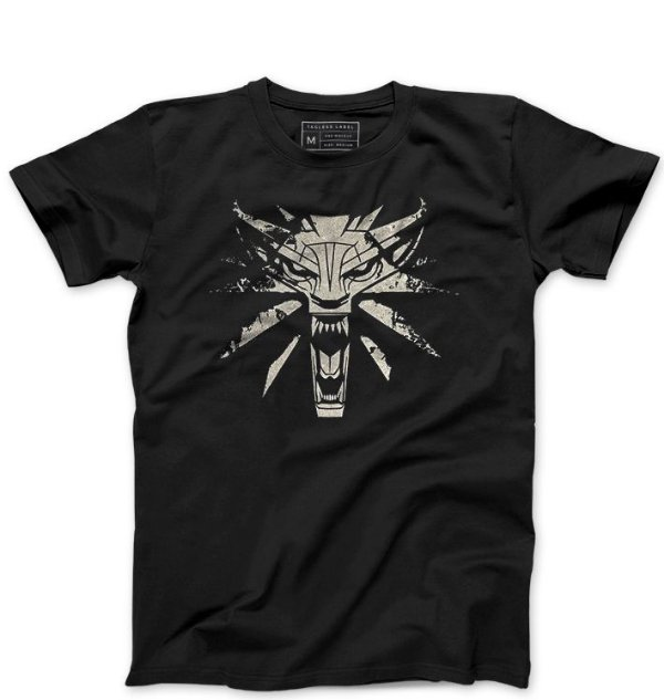 Camiseta Masculina Witcher - Loja Nerd e Geek - Presentes Criativos