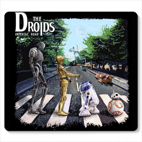 Mouse Pad Droids - Loja Nerd e Geek - Presentes Criativos