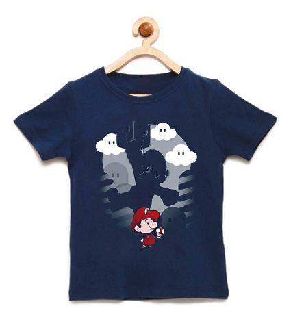 Camiseta Infantil Super Plumber - Loja Nerd e Geek - Presentes Criativos