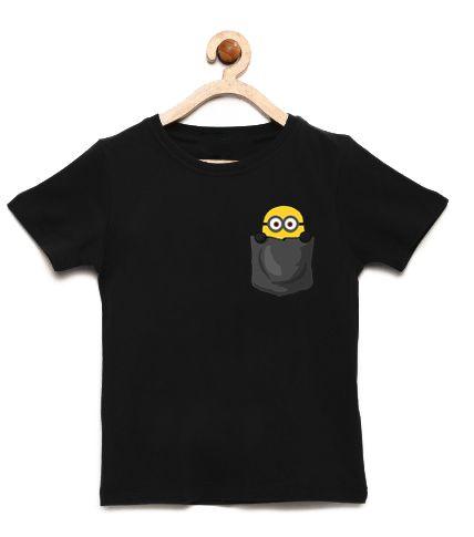 Camiseta Infantil Minion Bolso - Loja Nerd e Geek - Presentes Criativos