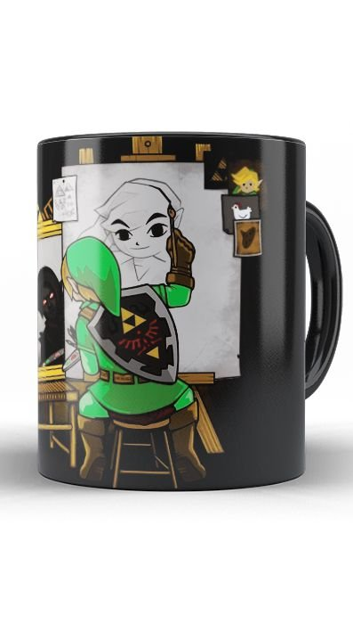 Caneca Geekz Elf Artista