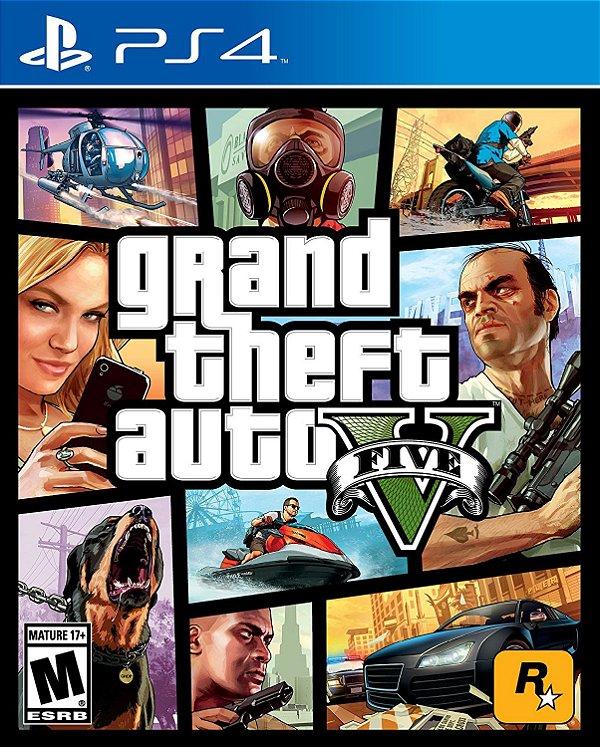 Grand Theft Auto V Ps4 Digital