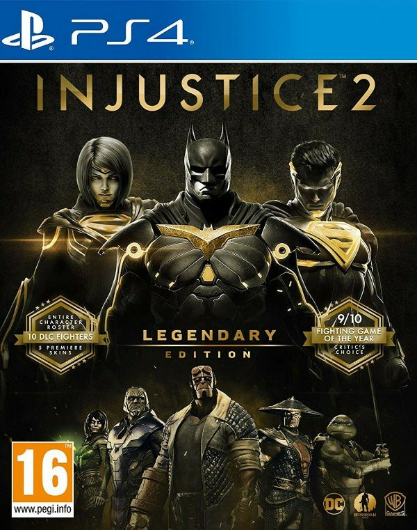 Injustice 2 Legendary Edition Ps4 Digital