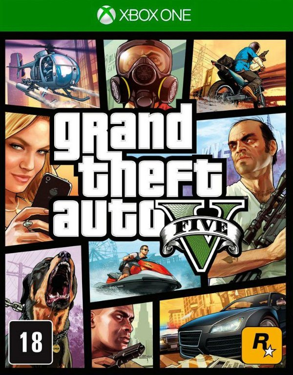 Grand Theft Auto V Xbox One Digital Online