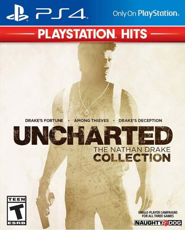 Uncharted The Nathan Drake Collection Ps4 Digital